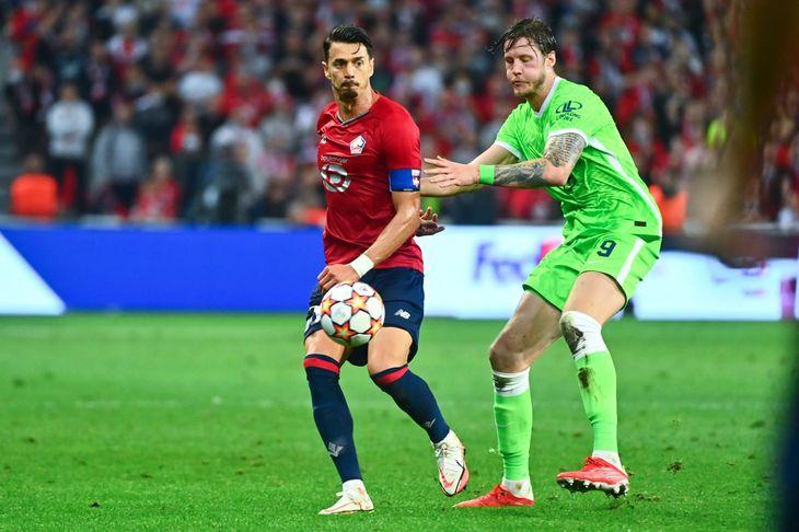 Hubo paridad entre Lille y Wolfsburgo.