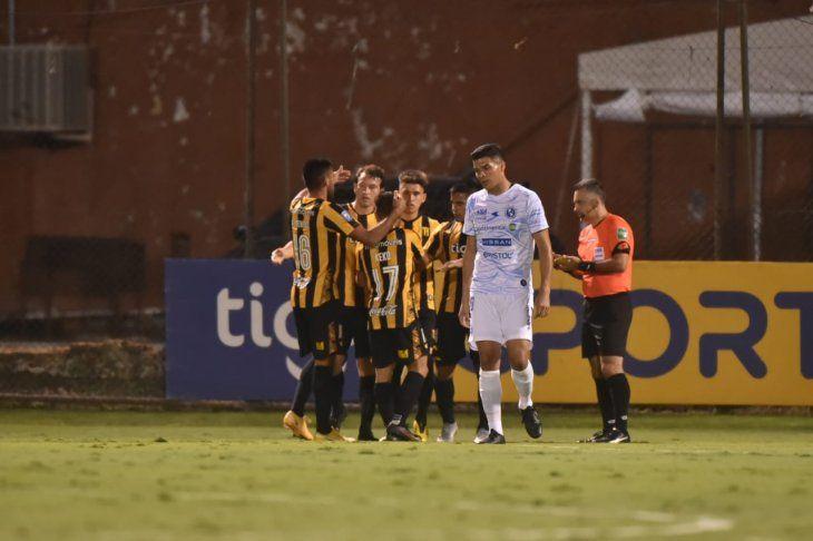 Guaraní venció a Sol en Dos Bocas.
