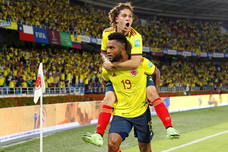 Colombia venció de local a Chile por Eliminatorias.