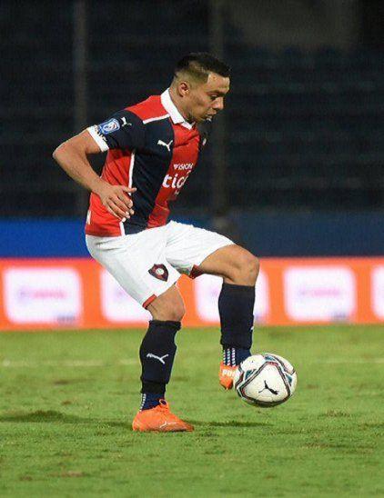 El motor. Ángel Cardozo Lucena es uno de los pilares en la estructura del Azulgrana. En Copa anotó un gol (ante América de Cali).