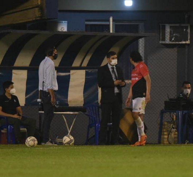 El Club River Plate presentará una nota a la APF para solicitar que se anule la tarjeta roja al jugador Osmar Molinas.