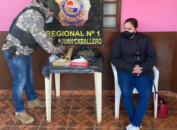 Una mujer identificada como Romy Cristina Giménez Ovelar