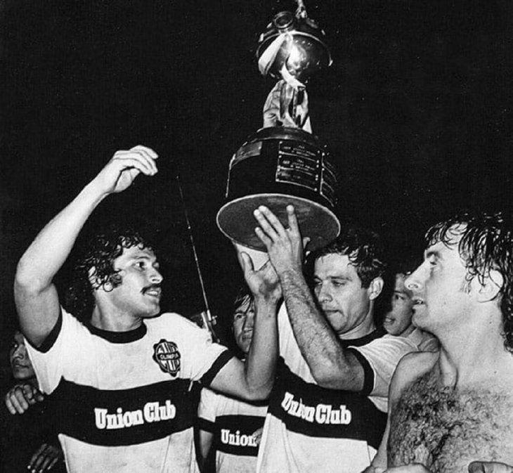 Osvaldo Domínguez Dibb recordó la hazaña de Olimpia en la Copa Libertadores 1979.