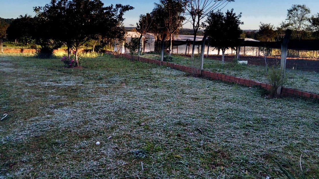 Ola de frío con heladas y temperaturas bajo cero en distintos puntos del país