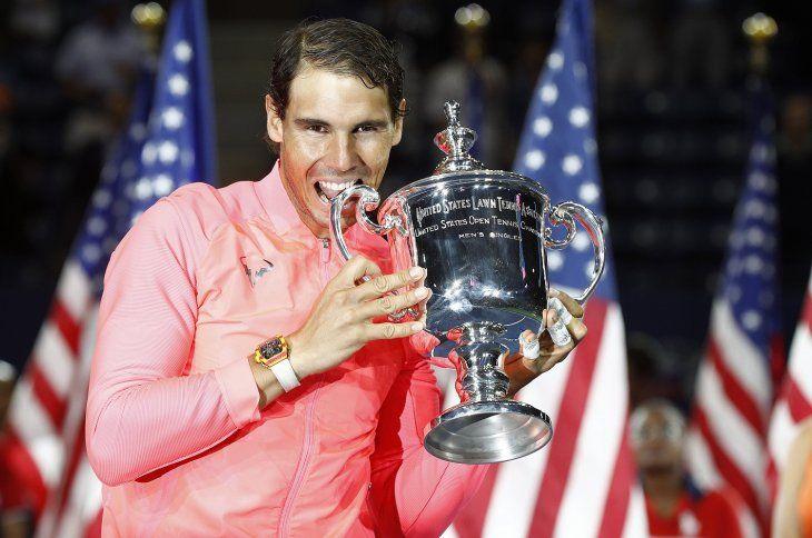 Rafael Nadal jugará el Abierto de Estados Unidos.