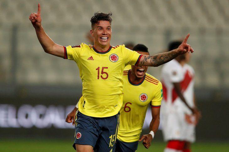 Colombia goleó a Perú.