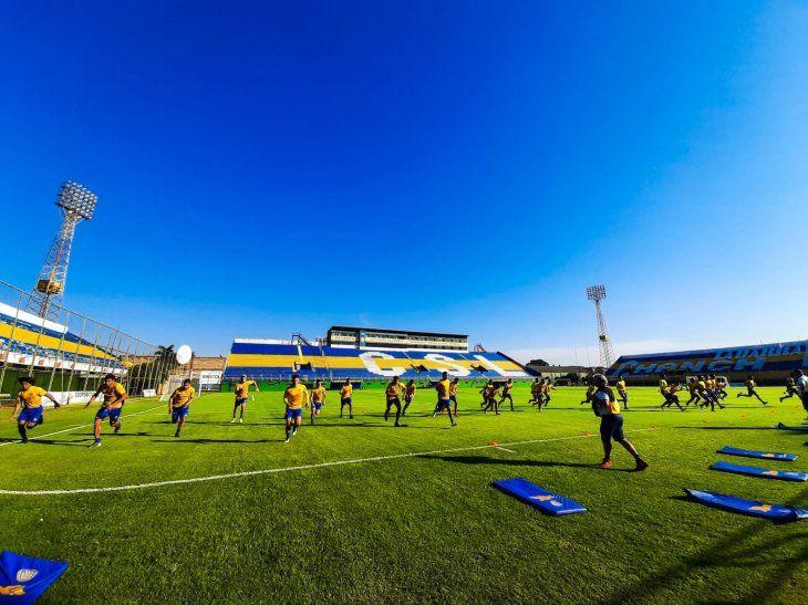 Sportivo Luqueño se prepara para el Clausura.