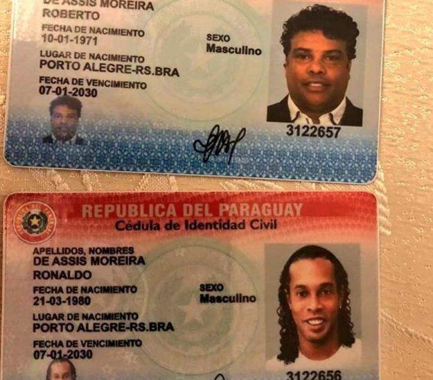 Las cédulas de identidad paraguaya falsas