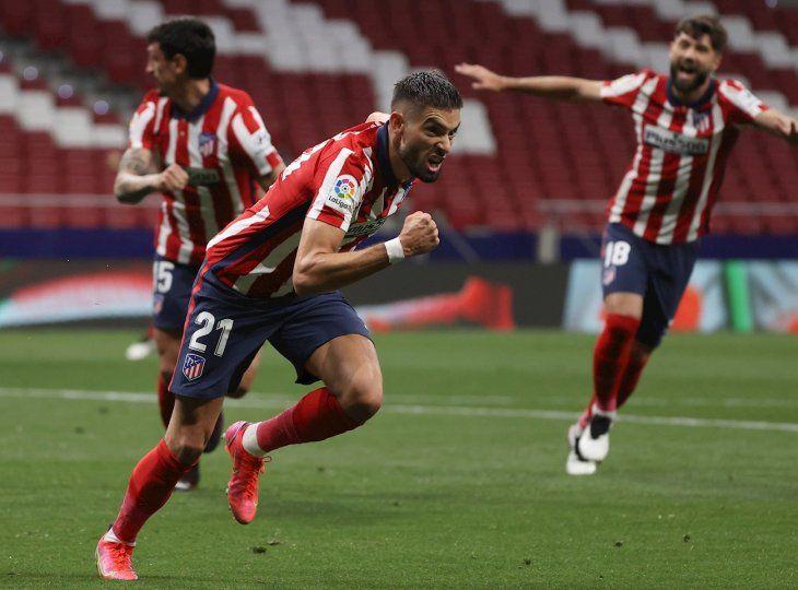 El Atlético de Madrid triunfó.