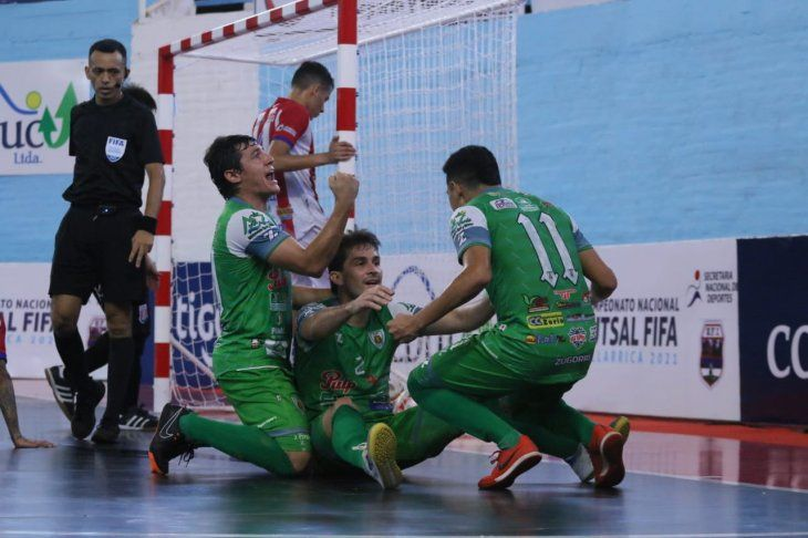 Villa Hayes venció a Limpio en la final del Nacional de Futsal FIFA.
