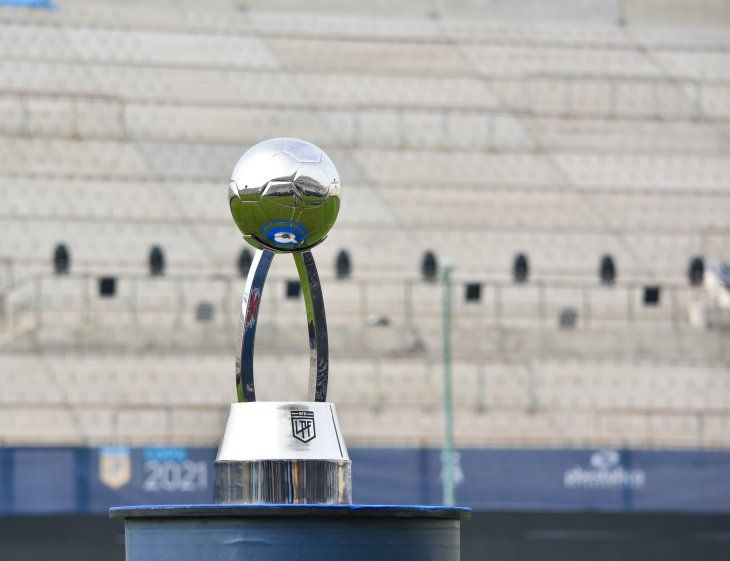 Trofeo de la Liga Profesional del fútbol argentino.