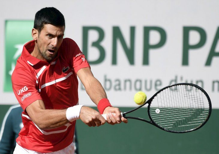 El serbio Novak Djokovic.