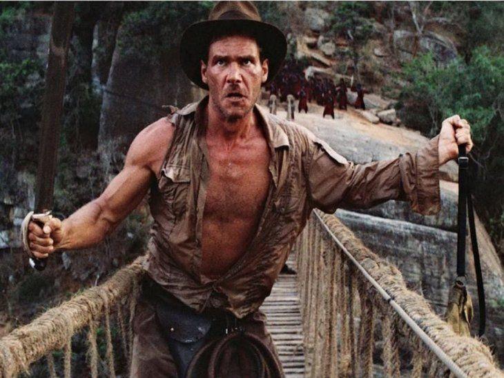 Exitosa. Indiana Jones fue interpretada por Harrison Ford.