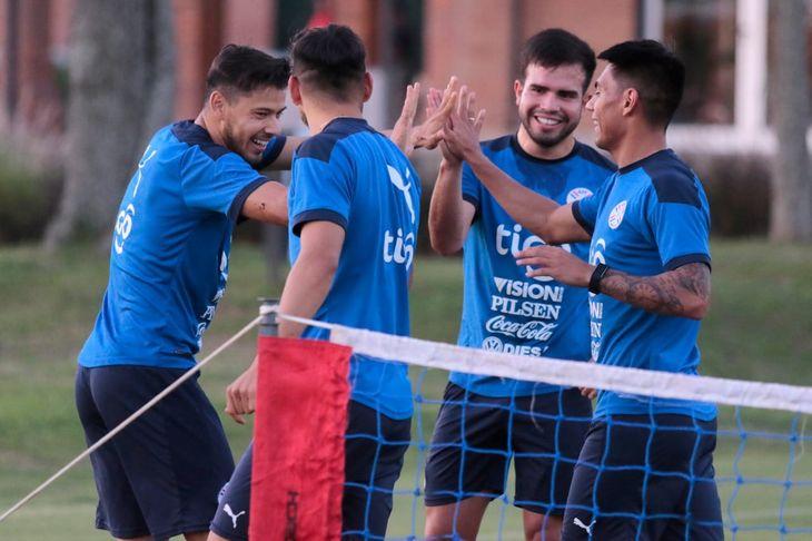 El equipo de Paraguay está definido