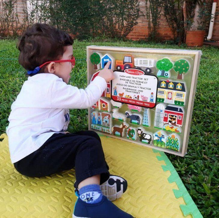Estimulación temprana. En el fascículo la especialista da recomendaciones para estimular en la casa durante las actividades de la vida cotidiana y a través del juego.
