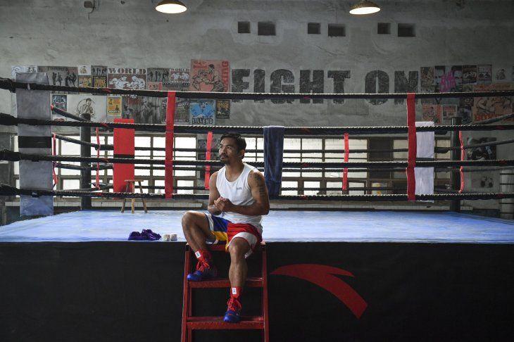 Manny Pacquiao anunció que se enfrentará el próximo 21 de agosto con el campeón unificado del peso welter