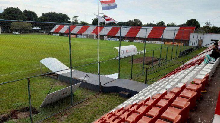 El Ka'arendy. El estadio de Mallorquín recibe a la Copa.