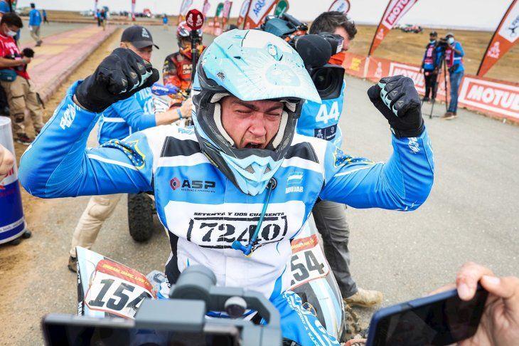 El argentino Manuel Andújar (7240) se proclamó campeón de la categoría de quads.