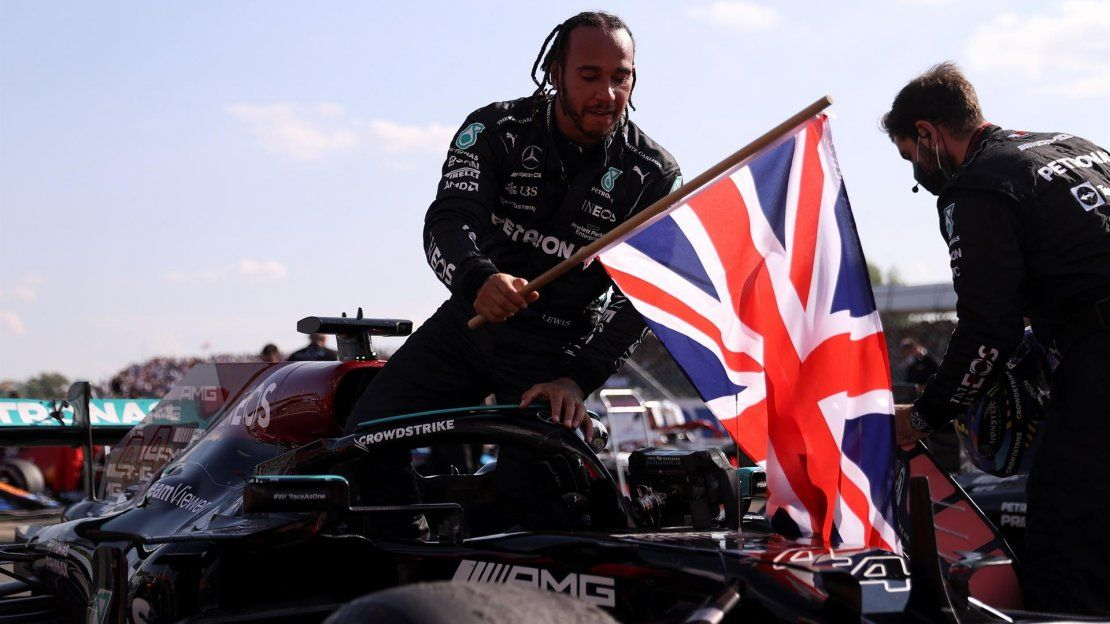 El piloto británico de Fórmula Uno Lewis Hamilton