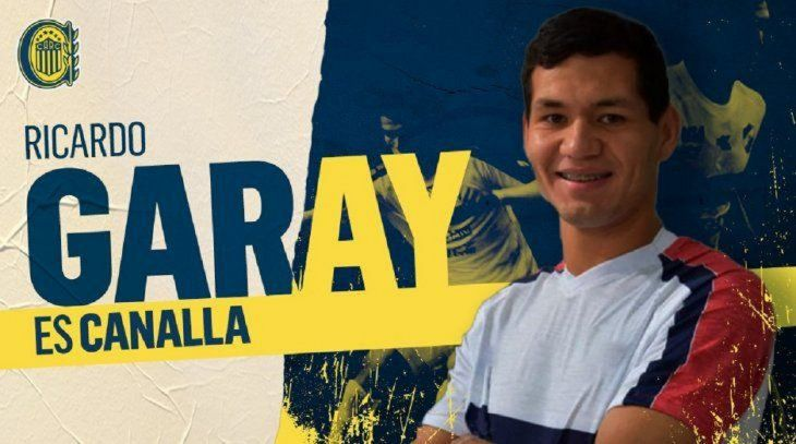 Garay fichó por el Rosario Central.