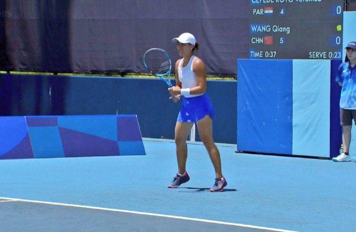 Verónica Cepede no pudo en su debut en los Juegos Olímpicos de Tokio.
