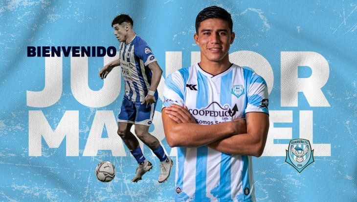 Junior Marabel cambia Itauguá por Villarrica.