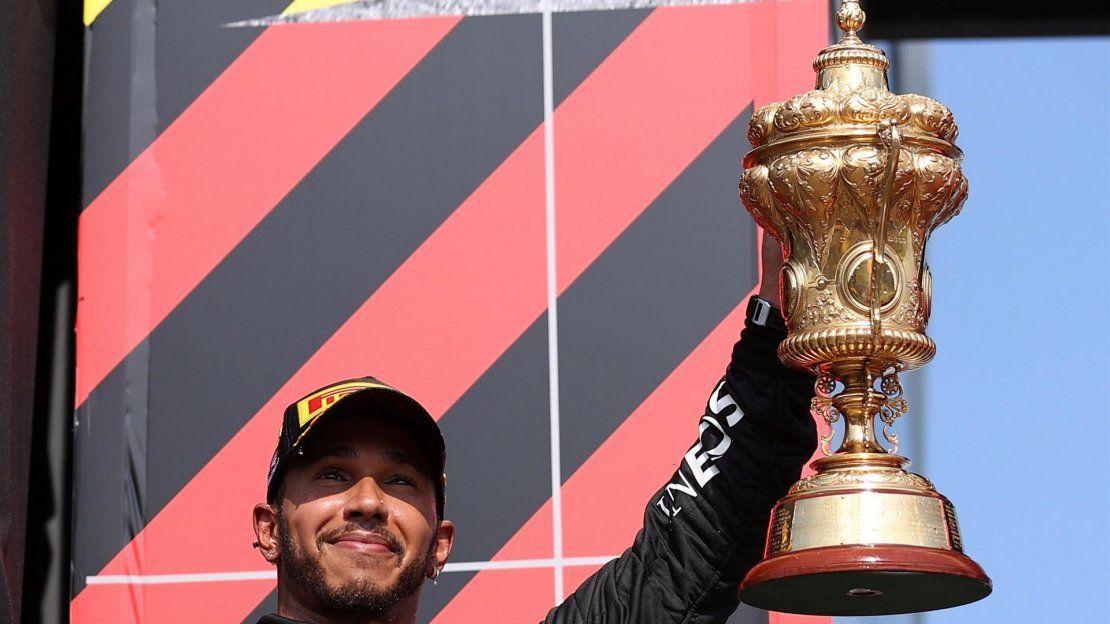 Fórmula Uno: Lewis Hamilton ganó en Silverstone