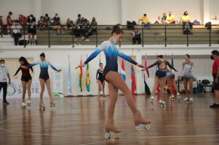 Se puso en marcha este jueves el Mundial de Patinaje Artístico Asunción 2021