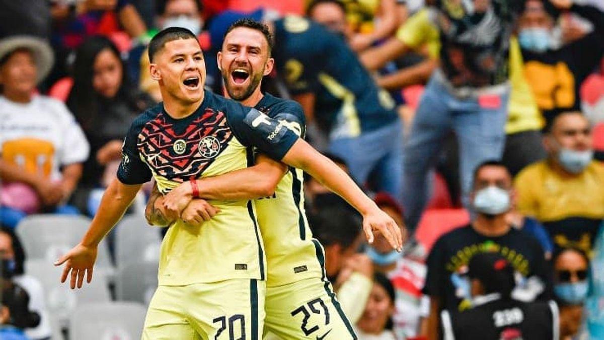 Richard Sánchez marca descomunal gol en México