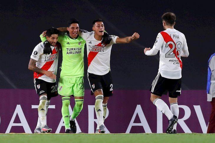 River Plate logró un gran triunfo por Copa Libertadores.