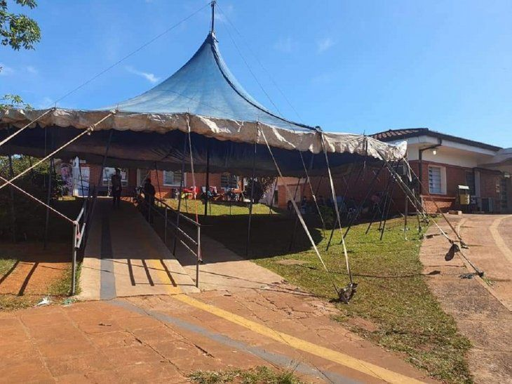 La estructura del recordado Circo Eguino Bross volvió a erigirse luego de 4 décadas