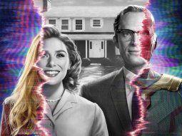 La serie está protagonizada por Elizabeth Olson y Paul Bettany en sus  papeles de Wanda Maximoff y Vision, superhéroes que ya aparecieron en  entregas de la saga Avengers.