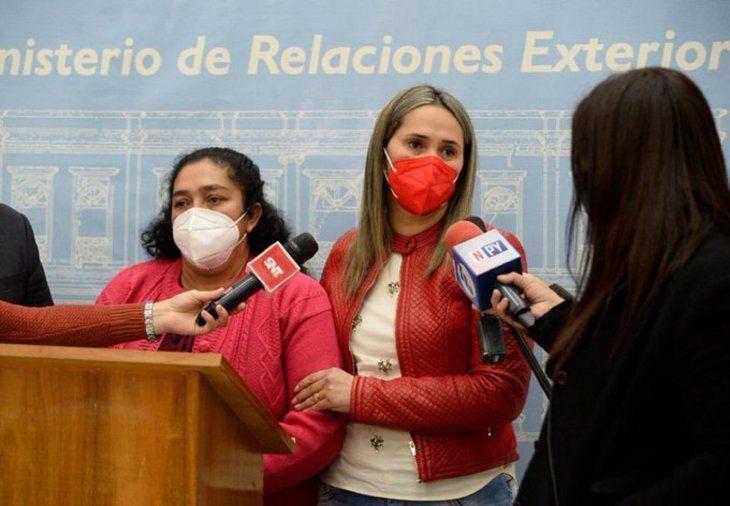 La madre de Leidy Luna Villalba viajará este sábado en horas de la noche rumbo a Estados Unidos.