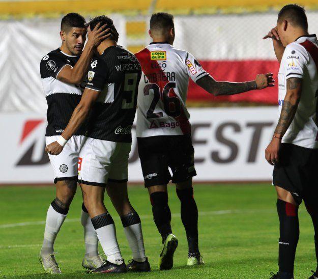 Olimpia empató en condición de visitante ante Always Ready por la Copa Libertadores.