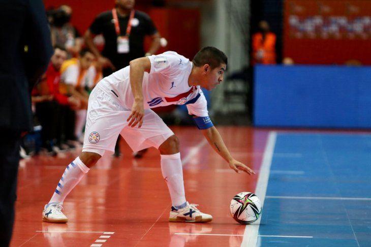 Referente. Juan Salas lleva dos goles anotados por Paraguay en el Mundial de FutsalFIFA que se disputa en Lituania.