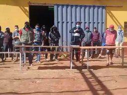 De los 50 compatriotas que guardan cuarentena en la Escuela de Policía, cuatro dieron positivo al coronavirus y fueron trasladados al Hospital Regional de Coropnel Oviedo.