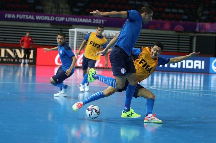 Reconocimiento. Paraguay trabajó en la sede de la Copa Mundial FutsalFIFA