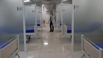Respiro. Luego de meses, el Hospital Nacional de Itauguá ya no tiene pacientes que están internados en el bloque modular. Todavía registran una cantidad menor a la decena de quienes están en terapia intensiva.