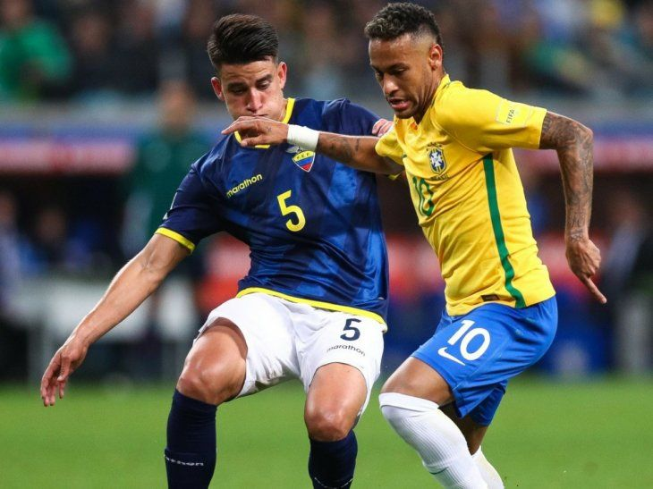 Brasil y Ecuador se verán las caras por la fecha 7.