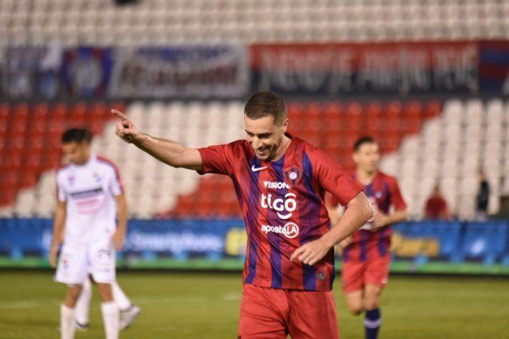Marcelo Palau es nuevo jugador de Luqueño.