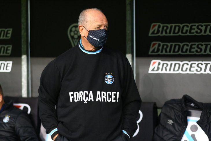 Luiz Felipe Scolari y su apoyo a Francisco Arce.