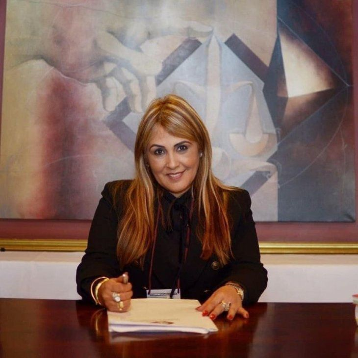 La fiscala Lolia Zunilda Martínez Giménez.