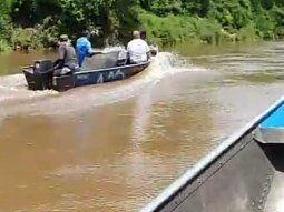 Los cuerpos fueron encontrados a las 13.30 de este lunes, a orillas del río Apa, en el establecimiento denominado Doctor Cachito, en la ciudad de Bella Vista Norte.