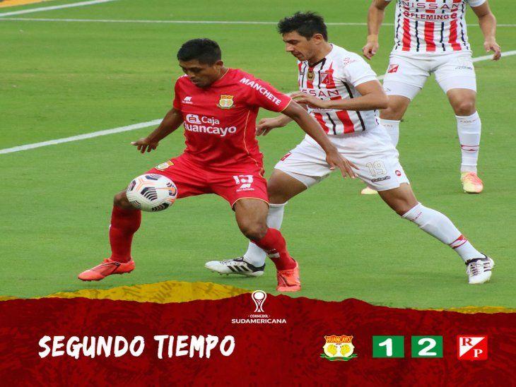 River Plate logró su primer triunfo internacional en la Sudamericana.