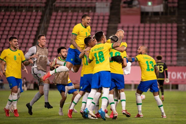 Brasil es finalista en fútbol de los Juegos Olímpicos.