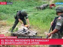 El medio argentino publicó esta noche el informe que sostiene que el tío del primer mandatario paraguayo cobra de forma irregular una jubilación del Estado argentino.