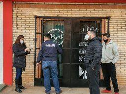 Los fiscales Mirtha Ortíz, Joel Cazal y Carina Sánchez realizan dos allanamientos simultáneos, en el marco de la investigación de la desaparición de la joven Isaura Bogado.