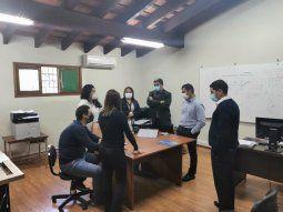 El equipo de trabajo está conformado por los fiscales Luis Piñanez, Sara Torres, María Lujan Estigarribia y Luz Guerrero. La coordinación del equipo está a cargo del fiscal adjunto, Jorge Sosa.