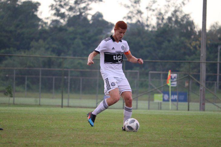 Augusto Melgarejo volvió a las Formativas de Olimpia junto con Paulo Riveros.