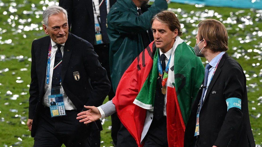 El seleccionador de Italia